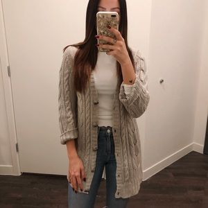 Margaret O'Leary Cable Knit Cardigan